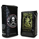 Death Wish & Valhalla Java Whole Bean Coffee Bundle Deal, USDA Certified Organic & Fair Trade (1 of Each Bag) (Grocery)