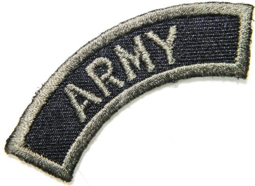 ARMY US USAF USN Navy Military Logo Tab Jacket Uniform Patch Sew Iron on Embroidered Sign Badge Costume
