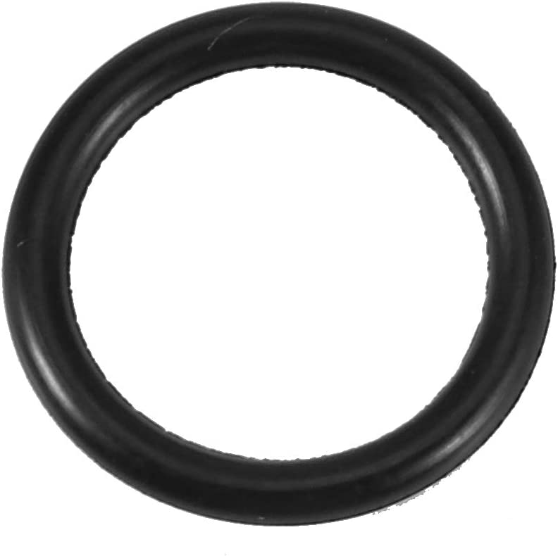 Fltaheroo 10 pcs Black Rubber Oil Seal O-rings Seals washers 20 x 15 x 2.5mm