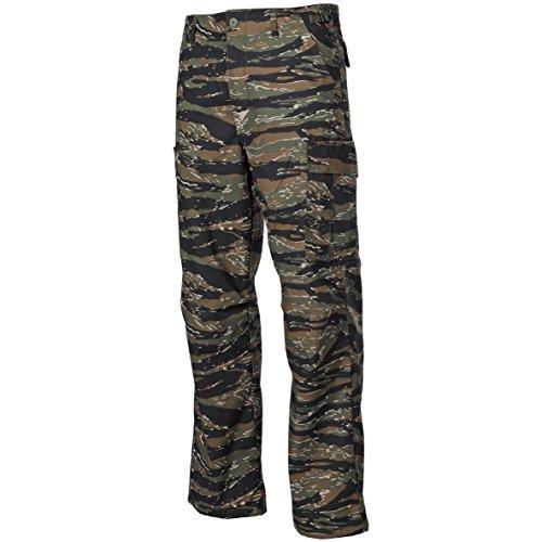 MFH BDU Pantalons de combat Ripstop Tiger Stripe