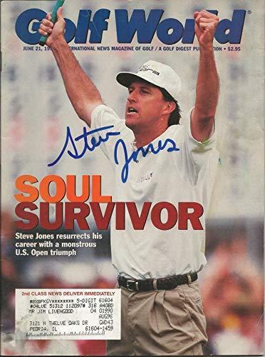 Steve Jones Signed 1996 Golf World Full Magazine - Autographed Golf Magazines Autographed Golf World Magazine