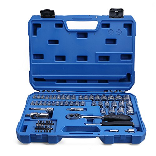 Valianto Hex Allen Bit Socket Set Car Repair Tool Kit, 65 Pcs - 1
