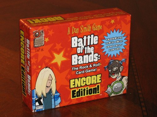 Dan Smith - Battle Of The Bands - The Rock & Roll Card Game