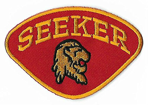 Seeker Logo Embroidered Iron / Sew on Patch Quidditch Team Hogwarts Harry Potter Gryffindor