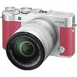 Fujifilm X-A3 Mirrorless Digital Camera with 16-50mm Len (Pink)