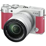 Cheap Fujifilm X-A3 Mirrorless Digital Camera with 16-50mm Len (Pink)