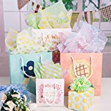 Whaline 120pcs Tissue Paper, Patterned Gift