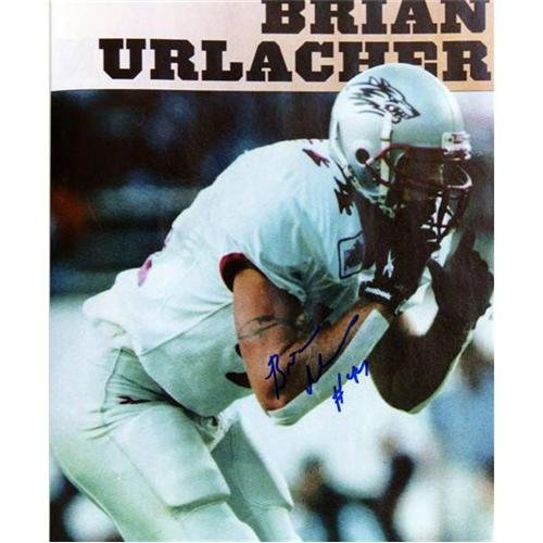 - Brian Urlacher Autographed New Mexico State Lobos 8x10 Photo