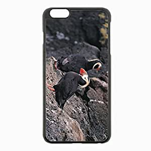 For Case Samsung Galaxy Note 2 N7100 Cover Black Hardshell Case 5.5inch - beak birds rocks cliff Desin Images Protector Back Cover