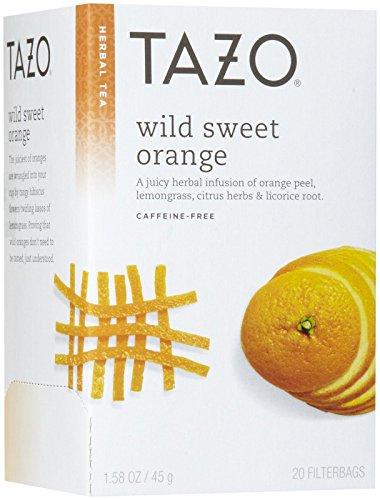 (Tazo Wild Sweet Orange Herbal Tea, 20 ct)