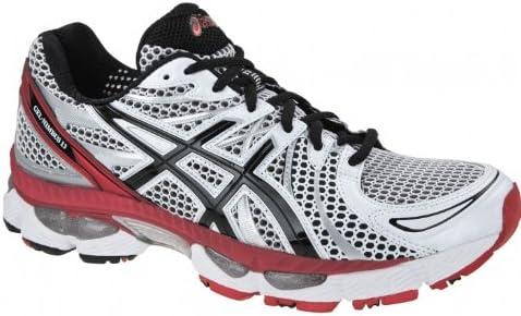 Rebotar ganador Seguir  Amazon.com | ASICS Gel-Nimbus 13 Running Shoes (4E Width Fitting) - 12.5  D(M) US - Red | Running