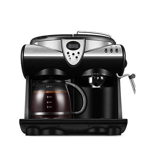 KOKO Máquina de café expreso en casa pequeña semiautomática ...
