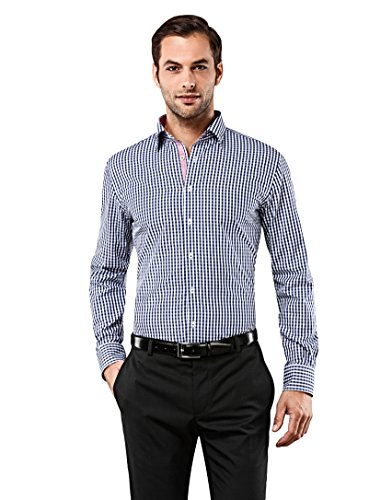 vincenzo-boretti-mens-shirt-slim-fit-non-iron-checked-with-cdarkblue175neck