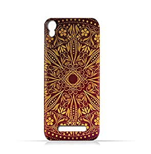 AMC Design Lava Iris 702 TPU Silicone Case With Floral Pattern 1201 - Multi Color