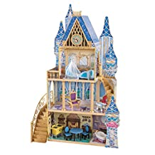 Disney Princess Cinderella Royal Dreams Dollhouse with Furniture by KidKraft by Disney Princess