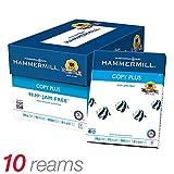 Hammermill Copy Plus MP Paper, Letter Size Paper, 20 Lb, 500 Sheets Per Ream, Case Of 10 Reams