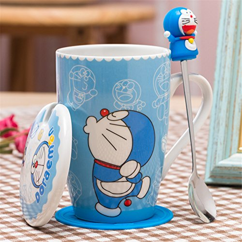 YOURNELO Creative Chinese Style Royal Dragon Yixing Boccaro Cup Tea Cup Mug with Lid Filtration set of 2