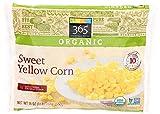 365 Everyday Value, Organic Sweet Yellow Corn, 16 oz, (Frozen)