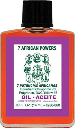 Indio Seven African Powers Oil - 0.5oz ()