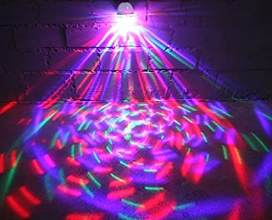 Dj Led Party Glühbirne E27 Rgb Licht Effekt Kristall Beleuchtung