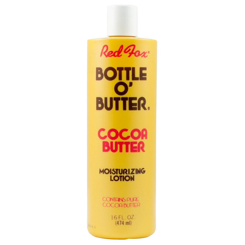 Red Fox Bottle O Butter Cocoa Butter Moisturizing Lotion, 16 Ounce