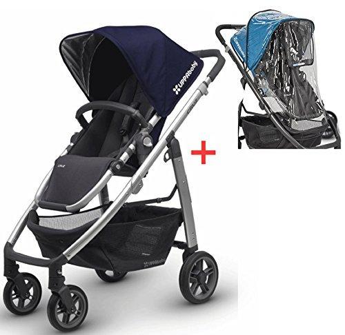 Uppa Baby Cruz 2015/2016 Stroller with Uppababy Cruz Rain...