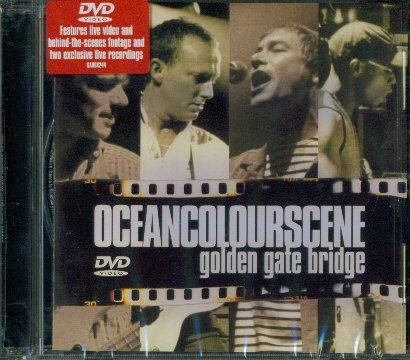 Ocean Colour Scene   Golden Gate Bridge
