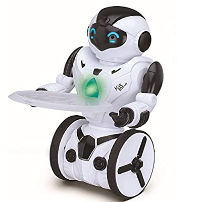 ToyThrill Self Balancing Dancing ROBOT, Remote Control 6-Axis Gyro with 5 Smart Mode Features- Gesture Control Music, Light, Motion Sensing: Cool Action Figure Christmas Toy Gift for Kids 8+ Years