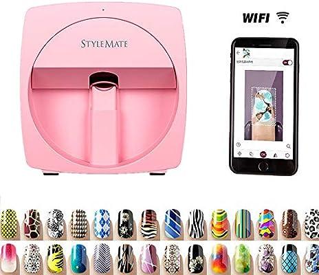 SANTHR El último portátil Spray de uñas Impresora 3D portátil ...