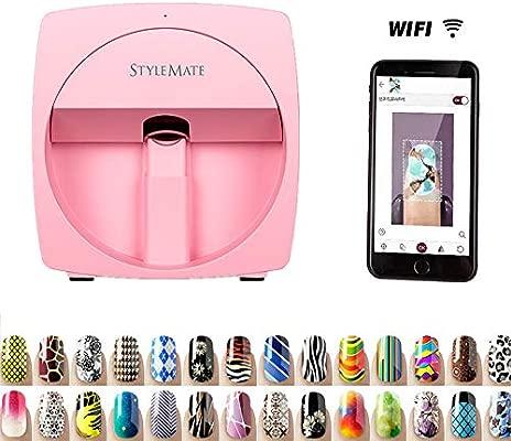 SANTHR 3D Digital móvil de uñas de manicura máquina ...