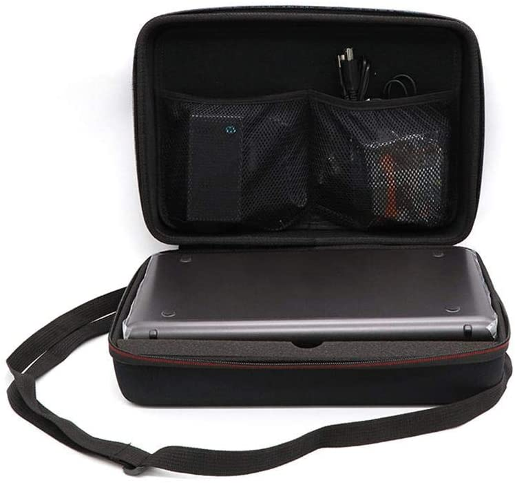 Presentimer Funda con Bolsa de Transporte para Canon PIXMA iP110 Impresora móvil inalámbrica con batería, Maleta rígida de EVA a Prueba de Golpes Maleta de Viaje portátil