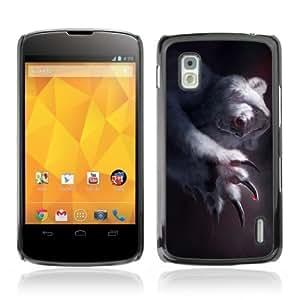 Designer Depo Hard Protection Case for LG Nexus 4 E960 / Polar Bear