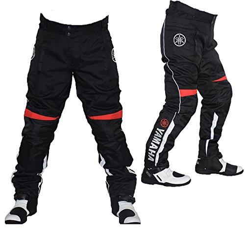 Amazon.com: Yamaha de los hombres pantalones de motorista ...