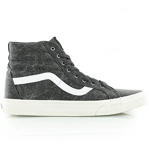 Vans SK8-Hi Reissue Overwashed Black/True White Men's 11