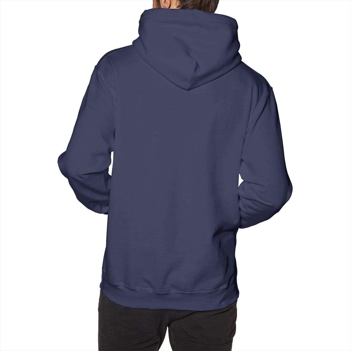W-st Goril-la Mens Hooded Sweatshirt Long Sleeve Fleece Pullover Drawstring Classic