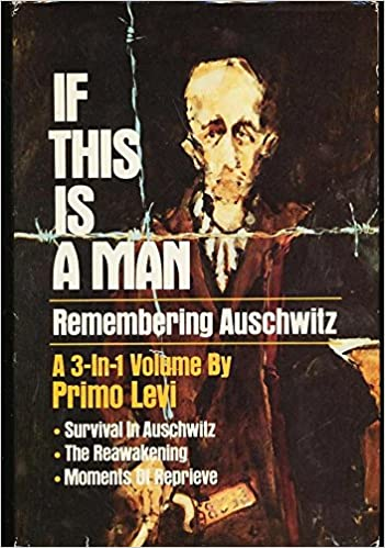 If this is a man remembering auschwitz primo levi amazon books fandeluxe Choice Image
