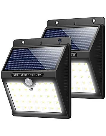 Trswyop Lampe Solaire Extérieur,  2 Pack  33 LED Eclairage Solaire Puissant  Detecteur de f9028ce60b62