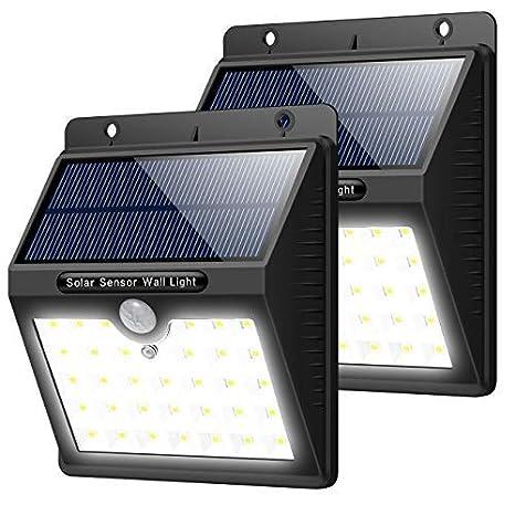 Trswyop Lampe Solaire Exterieur 2 Pack 33 Led Eclairage Solaire