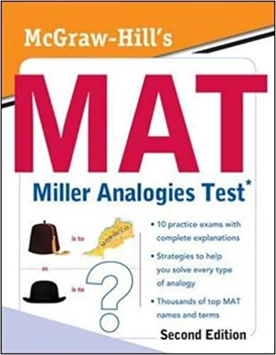 McGraw-Hill's MAT Miller Analogies Test, Second Edition: Kathy A ...