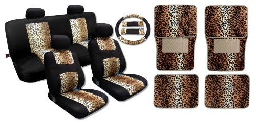 Leopard Cool Print Black Mesh product image