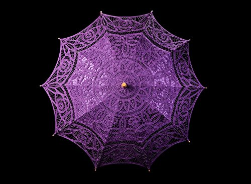 The 1 for Vintage Batternburg Lace Parasol 8 Colors