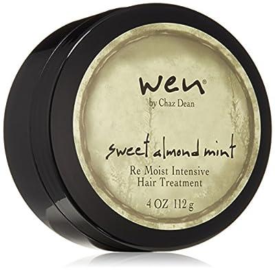 WEN by Chaz Dean Sweet Almond Mint Re Moist Hair Treatment, 4 Oz from WEN by Chaz Dean