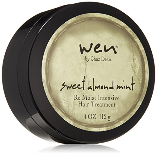 WEN by Chaz Dean Sweet Almond Mint Re Moist Hair Treatment, 4 Oz