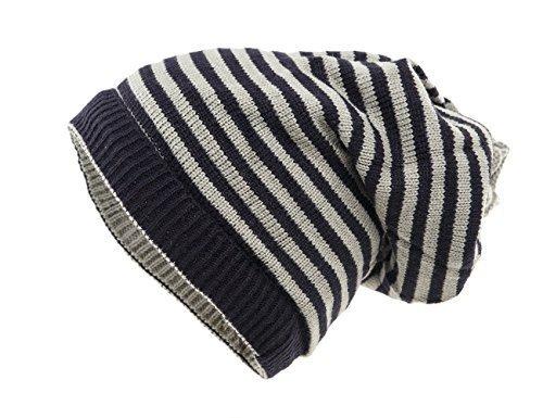 Punto gris cuello para invierno Azul y y Ideal el unisex gorro Shenky 2 Braga 1 de en marino qEO6nTz