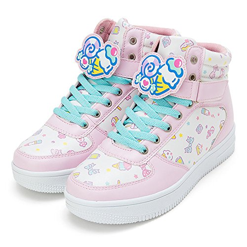 Sanrio fresh punch character clip with high-cut sneakers L size From Japan New (Monster High Girls Names)