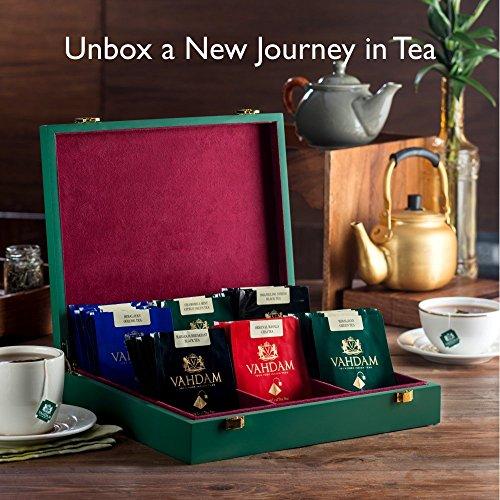 VAHDAM, Assam Black Tea (30 Tea Bags) - Long Leaf Assam Tea Bags - RICH & MALTY - Breakfast Tea Bags, FTGFOP1 Grade, 100% Certified Pure Unblended Assam Tea Loose Leaf - 15 Pyramid Tea Bags (Set of 2) by Vahdam (Image #8)