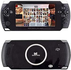 Amazon.es: Rendaysa Consola De Videojuegos con Pantalla Táctil X8 Consola De Juegos Portátil para niños Gonsole De 32 bits y 8 GB Consola De Juegos para Niños Portátil De 4.3 Pulgadas