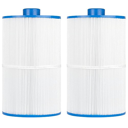 (Clear Choice Pool Spa Filter 8.00 Dia x 13.00 in Cartridge Replacement for Coleman Spa 75 Baleen AK-7008, [2-Pack])