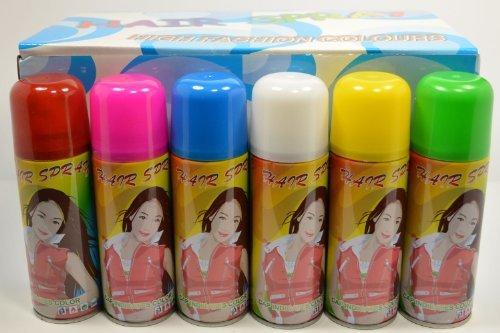 (Temporary Hair Color Spray 3 oz - Master Case (72)
