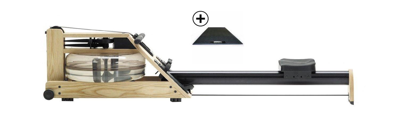 Water Rower Rudergerät inklusive Bodenschutzmatte